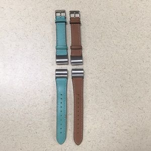 Fitbit Charge II leather bands